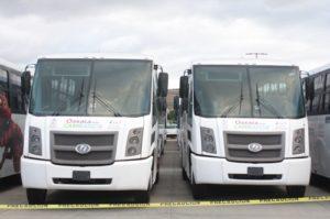 Las unidades que serían parte del Citybús, servirán ahora para prestar el servicio de transporte a los trabajadores del Gobierno del estado que laboran en Ciudad Administrativa y Ciudad Judicial.